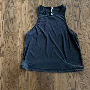 lulu lemon jersey netting tank top